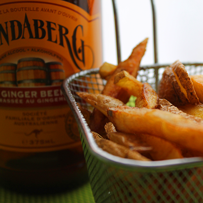 frites et ginger beer