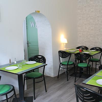 deuxième salle de restaurant délices-gevvies